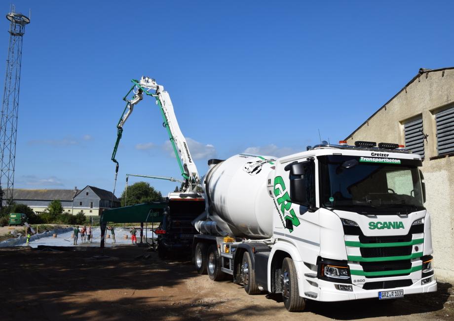 Lieblings Greizer Transportbeton - Wir liefern Ihren Beton - ! @PP_57