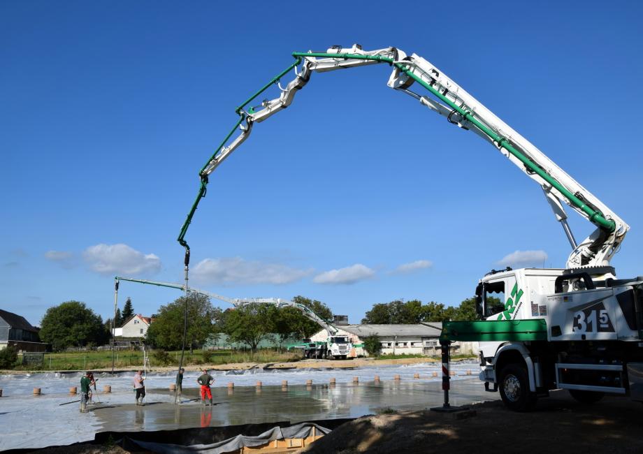 Berühmt Greizer Transportbeton - Wir liefern Ihren Beton - ! @SQ_89